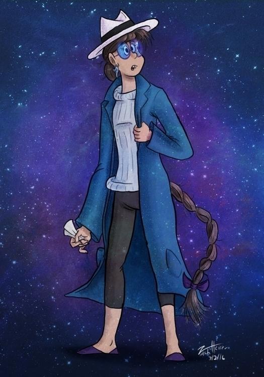 Ticket Cosmos (2016 - characterdesign - heiserz | ello