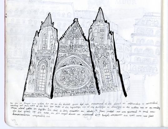 Prague church - art, architecture - miekevdmerwe | ello