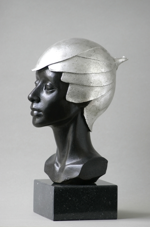 Flowerhead, bronze/silverleaf,  - marina-7013 | ello