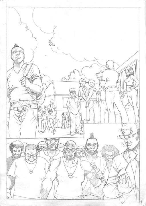 page 1 - illustration, pencildrawing - sunnyefemena | ello