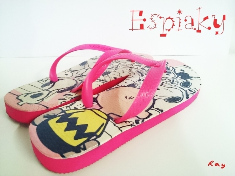 FlipFlop Snoop - illustration, fashion - rayssamc | ello