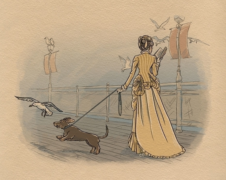 Victorian Dachshund - dachshund - chelseac-2002 | ello