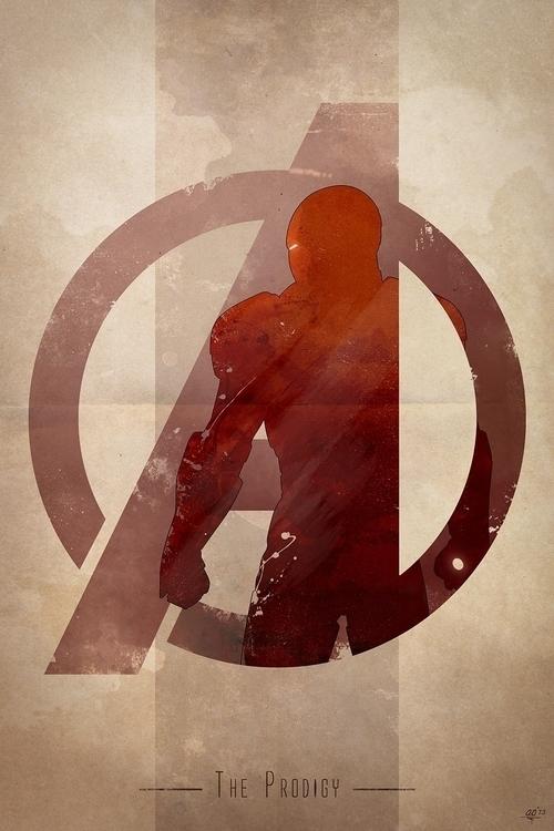 Avengers assemble! Inspired 'Av - digitaltheory | ello