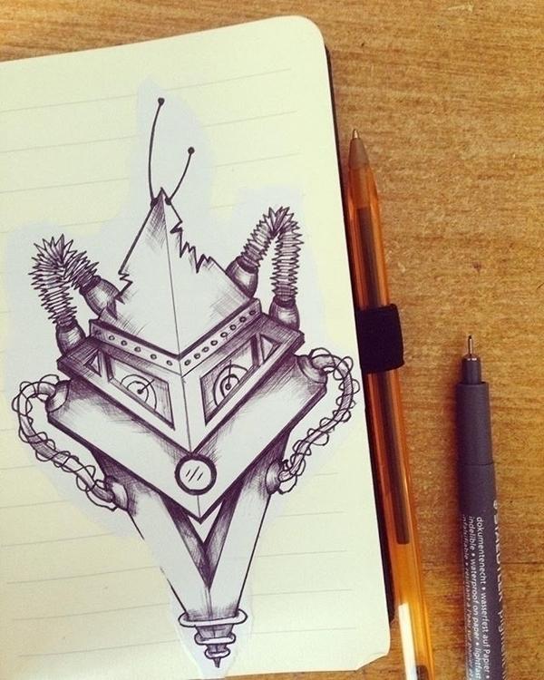 Robotics 1.4 - illustration, characterdesign - mp-1845 | ello