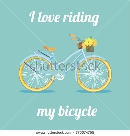 Illustration bicycle - illustration - iirispaikese | ello