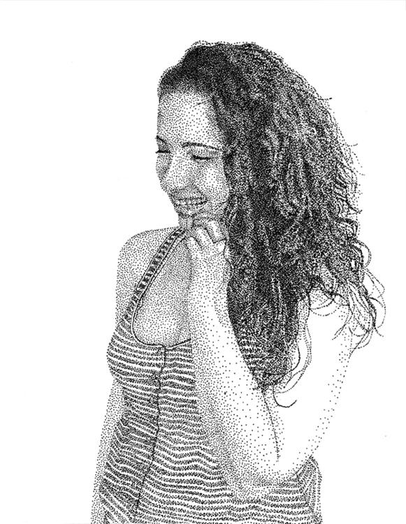 good friend  - drawing, illustration - nickvcarro | ello
