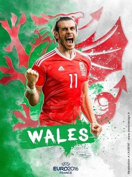 Pays de Galles - digitalart, graphicdesign - alainldesign | ello
