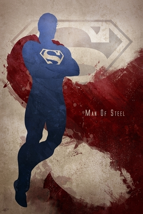 Inspired Superman, print featur - digitaltheory | ello
