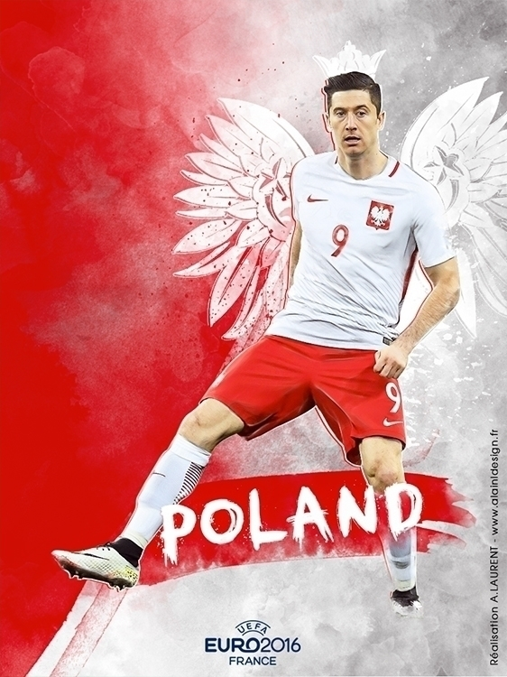 Pologne - digitalart, graphicdesign - alainldesign | ello