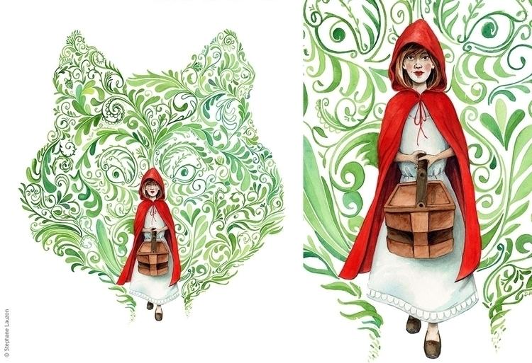 Petit Chaperon rouge / Red Ridi - stephanelauzon | ello