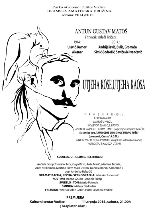 Commision work local theatre - posterdesign - redrab2it | ello