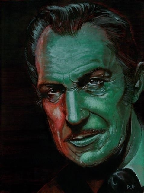 Vincent Price - Horror, Painting - dwfrydendall | ello