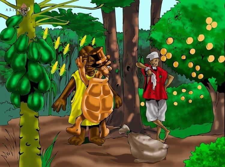 folktales - illustration - sunnyefemena | ello