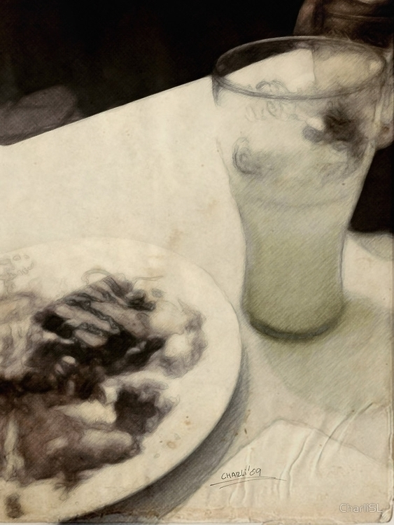 delicious snack - photography, drawing - filigranasdigitales | ello