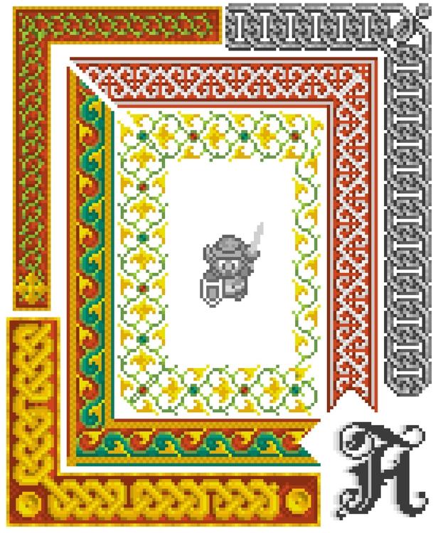 Pixelated manuscript - design, pixel - colinbrown-7810 | ello