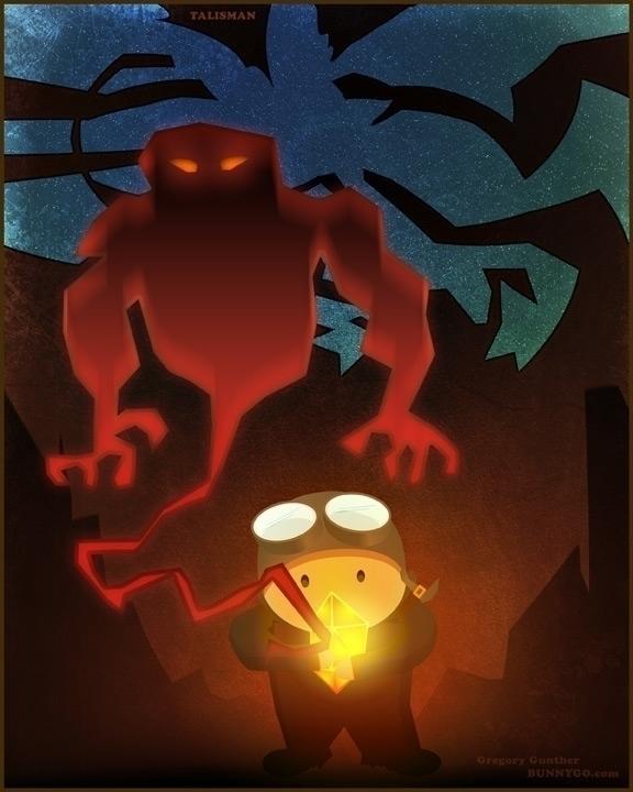 Talisman - illustration, children'sbook - gregorygunther | ello