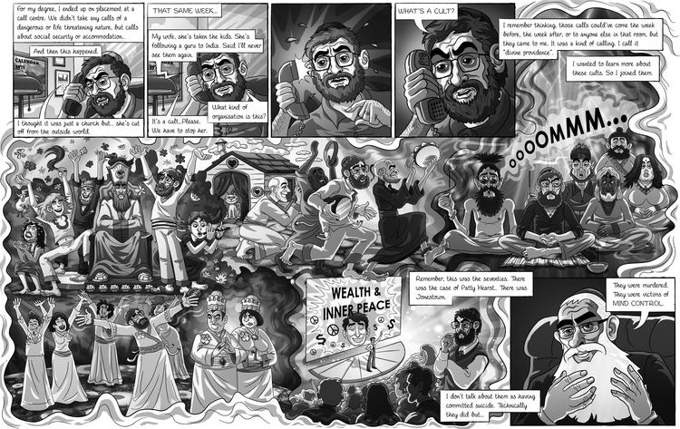 illustration, baruchinbar, graphicnovel - baruchinbar   ello