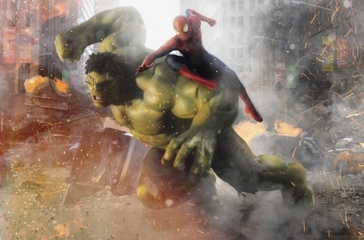 Hulk Spider-Man - dmorson | ello