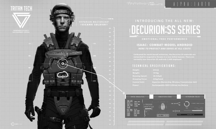 Isaac 1 - Decurion:SS Promo - dmorson   ello