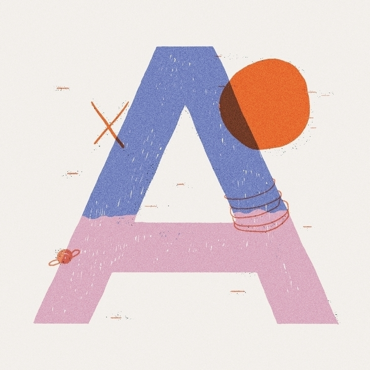 type, typography, digitalart - rfortes | ello
