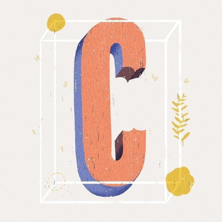 lettering, letter, illustration - rfortes | ello