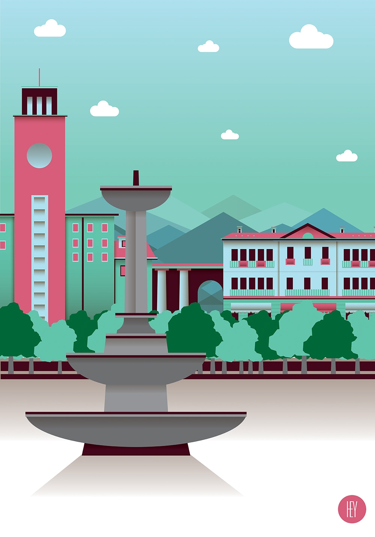 Piazza fontana - Pinerolo - pinerolo - oscarcauda | ello