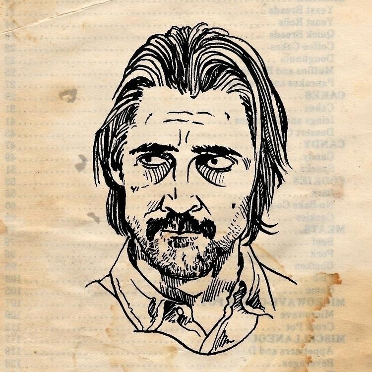 Ray Velcoro - portrait, ink, graphic - prianikn | ello