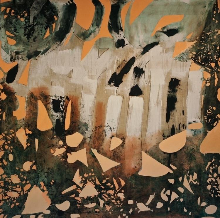Hear Moon Whispering Oil Canvas - richardrutner | ello