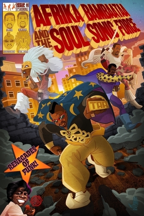 Soul Sonic Force - illustration - dedos-1276 | ello