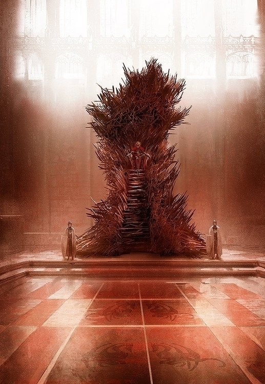 Iron throne - marcsimonetti | ello