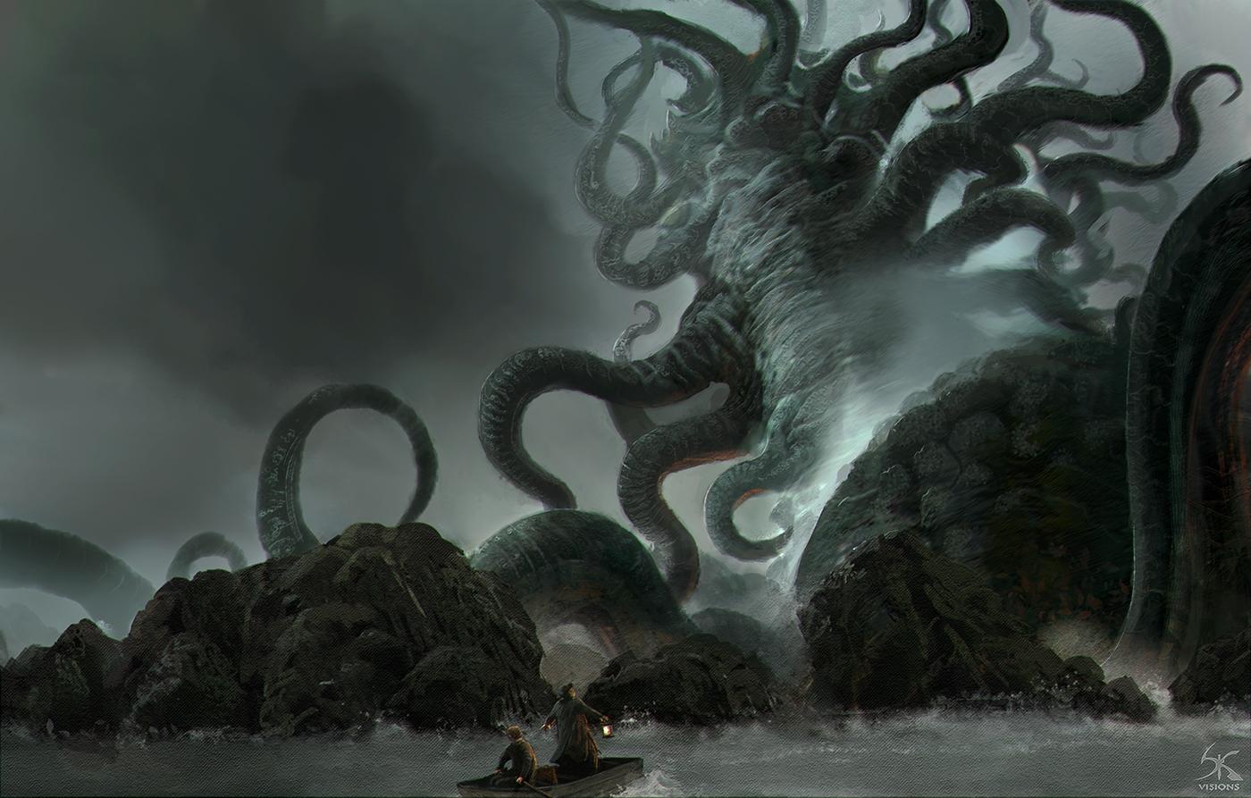 Title Hydra expecting Lovecraft - sanskarans | ello