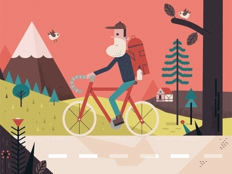 robi bike - jamieaspinall, illustration - schnuppe | ello