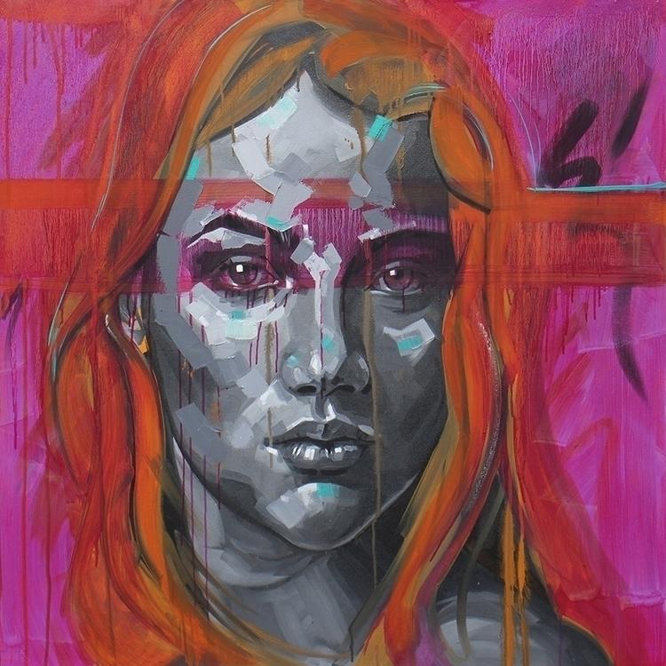 Unauthorised - painting, female - koscos | ello