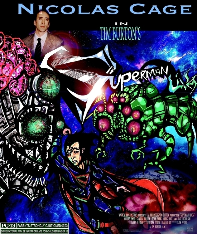 Superman lives - superman, TDOSLWH - jeremieduval   ello
