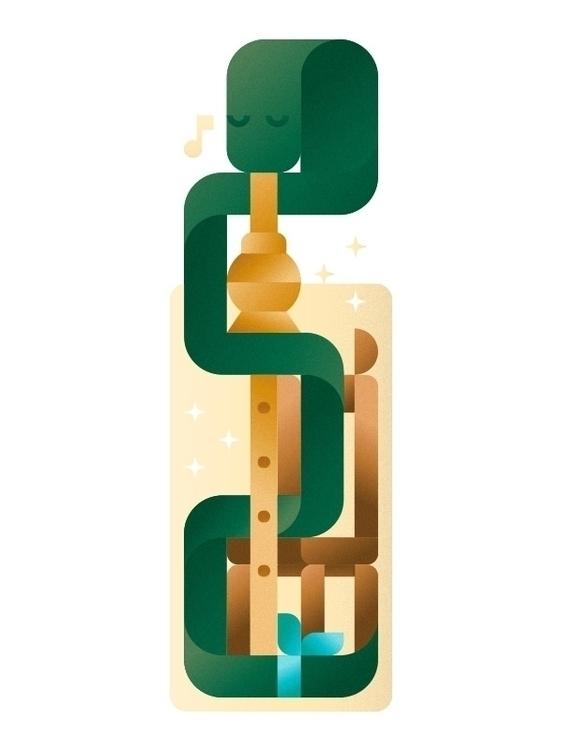 flutist Marrakesh - snake, band - francescofaggiano | ello