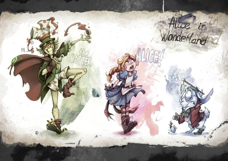 Bad Alice - characterdesign, conceptart - mvpurplespot | ello
