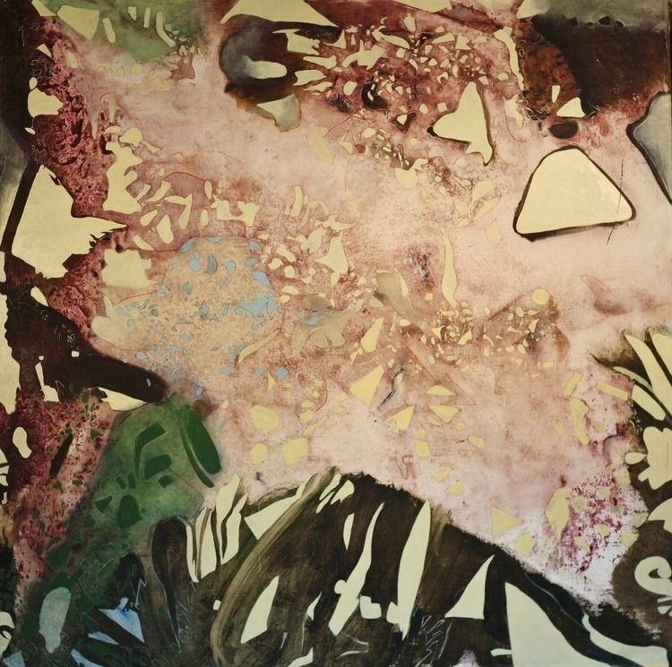 Planetary Landscape Oil Canvas  - richardrutner | ello