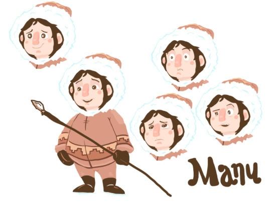 character design manu, title bo - cjwords | ello