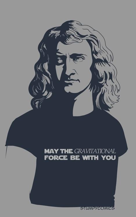 Newton: Gravitational Force - newton,gravity - james-8103 | ello