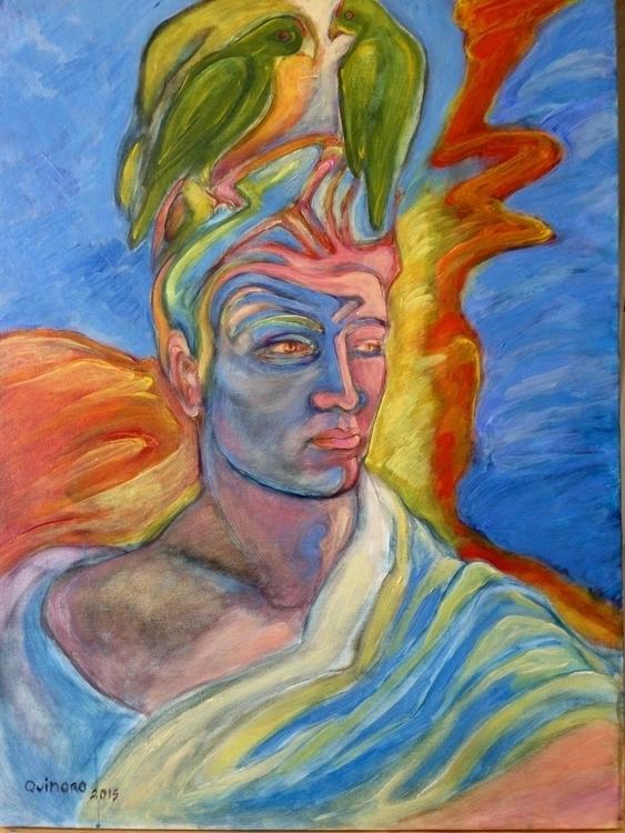 Varon II. Acrylic canvas. 2015 - quinoro | ello