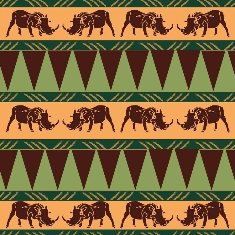 Pumba - pumba, warthog, illustration - irene_rofail   ello