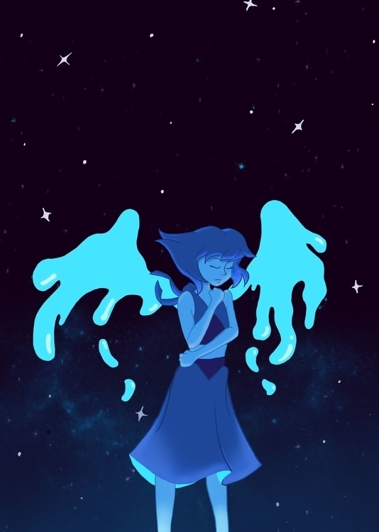 Fanart Lapis Steven Universe - illustration - maryam-3647 | ello