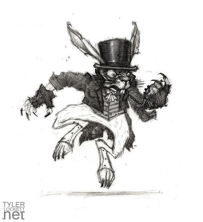 characterdesign, drawing, gameart - tylerlockett | ello