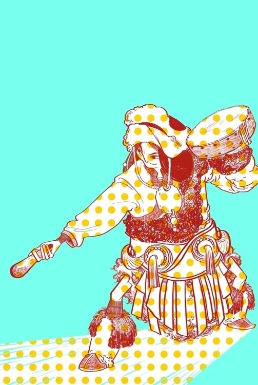 characterdesign, illustration - gloriouspapertiger | ello
