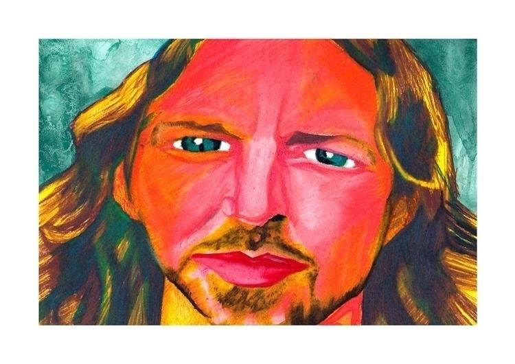Portrait Eddie Vedder - portrait - stefanolazzaro | ello