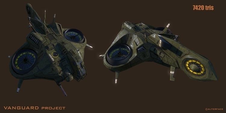 mantis dropShip - gameart, 3d - lowseb | ello