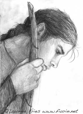 pencil drawing elf - illustration - laumee | ello
