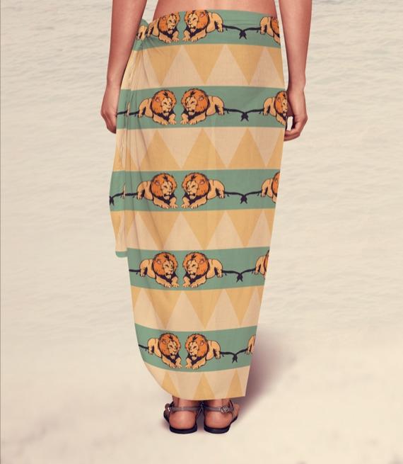 Sarong - sarong, swimwear, fashiondesign - irene_rofail   ello