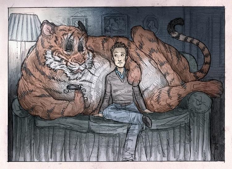 Garfield - Tigarfield - joebecci | ello
