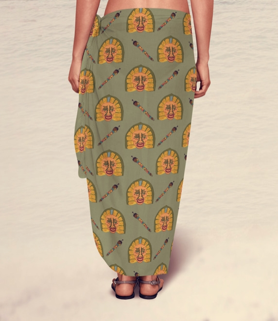 Sarong - pattern, surfacedesign - irene_rofail | ello